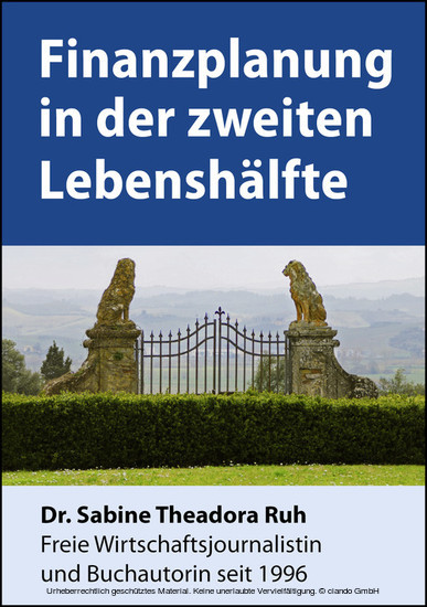 Finanzplanung in der zweiten Lebenshälfte - Blick ins Buch