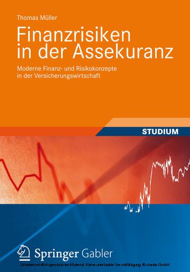 Finanzrisiken in der Assekuranz - Blick ins Buch