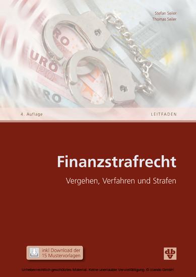 Finanzstrafrecht (Ausgabe Österreich) - Blick ins Buch