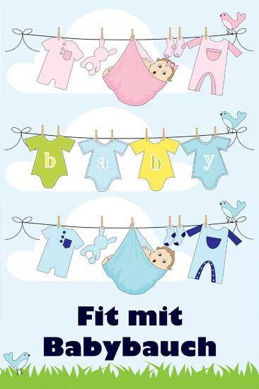 Fit mit Babybauch - Blick ins Buch