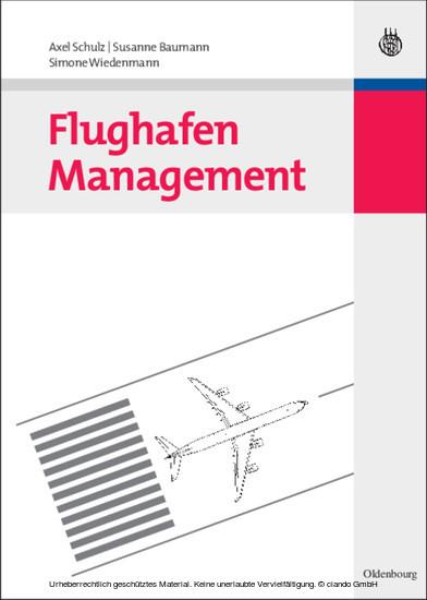 Flughafen Management - Blick ins Buch