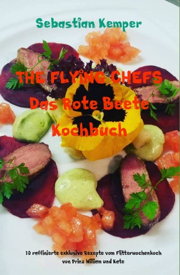 THE FLYING CHEFS Das Rote Beete Kochbuch - Blick ins Buch