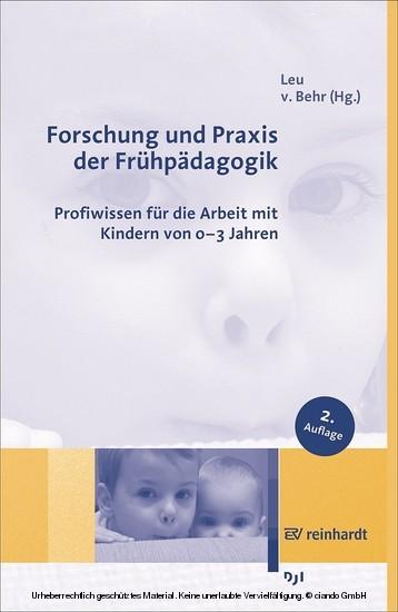 Forschung und Praxis der Frühpädagogik - Blick ins Buch