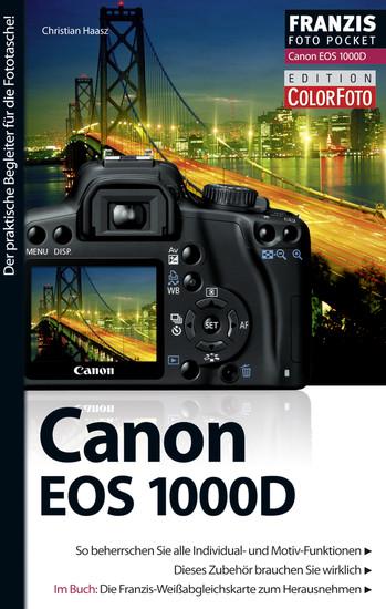 Foto Pocket Canon EOS 1000D - Blick ins Buch