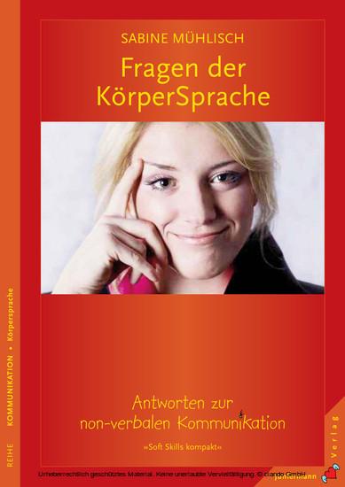 Fragen der KörperSprache - Blick ins Buch