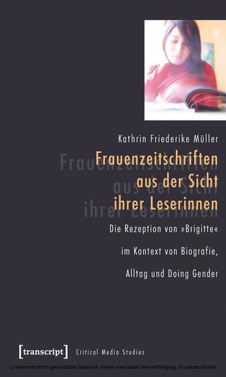 Frauenzeitschriften aus der Sicht ihrer Leserinnen - Blick ins Buch
