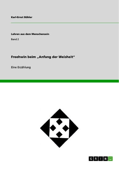 Freehwin beim 'Anfang der Weisheit' - Blick ins Buch
