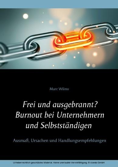 Frei und ausgebrannt? Burnout bei Unternehmern und Selbstständigen - Blick ins Buch