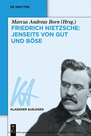 Friedrich Nietzsche: Jenseits von Gut und Böse - Blick ins Buch
