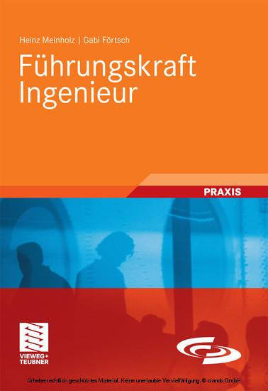 Führungskraft Ingenieur - Blick ins Buch