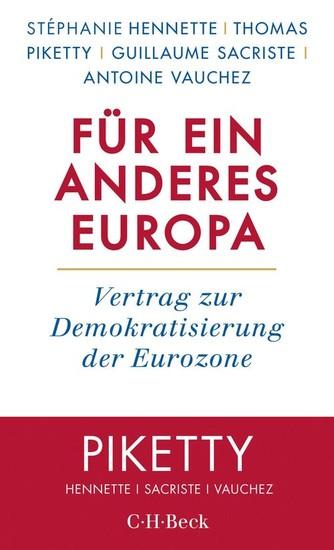 Für ein anderes Europa - Blick ins Buch