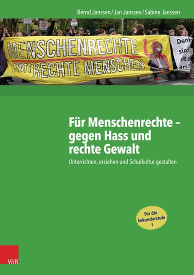 Für Menschenrechte - gegen Hass und rechte Gewalt - Blick ins Buch