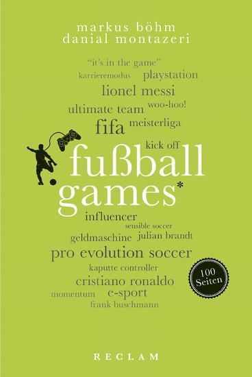 Fußballgames. 100 Seiten - Blick ins Buch
