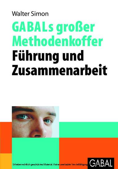 GABALs großer Methodenkoffer - Führung und Zusammenarbeit - Blick ins Buch