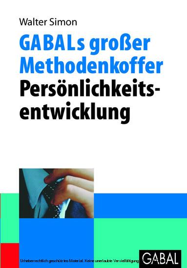 GABALs großer Methodenkoffer - Persönlichkeitsentwicklung - Blick ins Buch