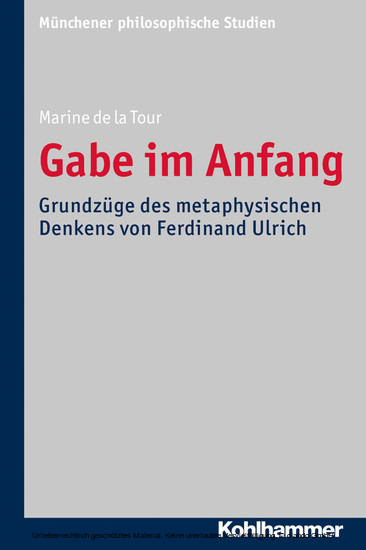 Gabe im Anfang - Blick ins Buch