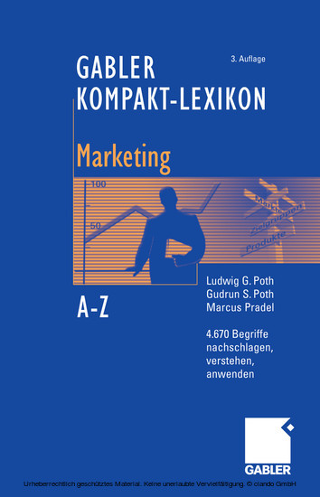 Gabler Kompakt-Lexikon Marketing - Blick ins Buch
