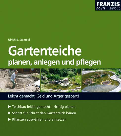 Gartenteiche planen, anlegen und pflegen - Blick ins Buch