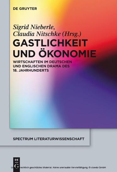 Gastlichkeit und Ökonomie - Blick ins Buch