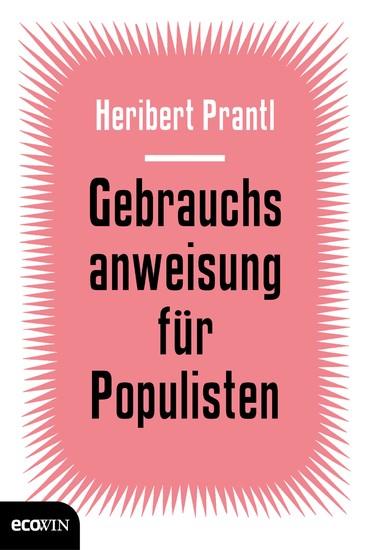 Gebrauchsanweisung für Populisten - Blick ins Buch