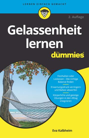 Gelassenheit lernen für Dummies - Blick ins Buch