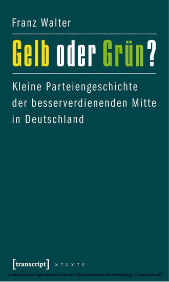 Gelb oder Grün? - Blick ins Buch