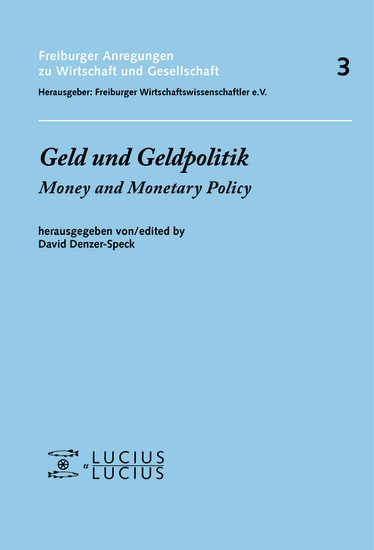 Geld und Geldpolitik - Blick ins Buch