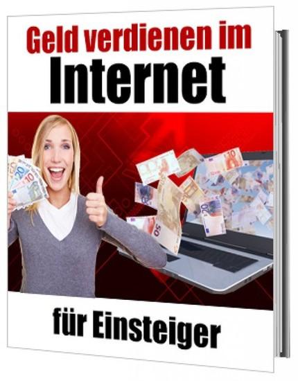 Geld verdienen im Internet für Einsteiger - Blick ins Buch