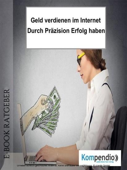 Geld verdienen im Internet - Blick ins Buch