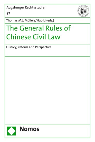 The General Rules of Chinese Civil Law - Blick ins Buch