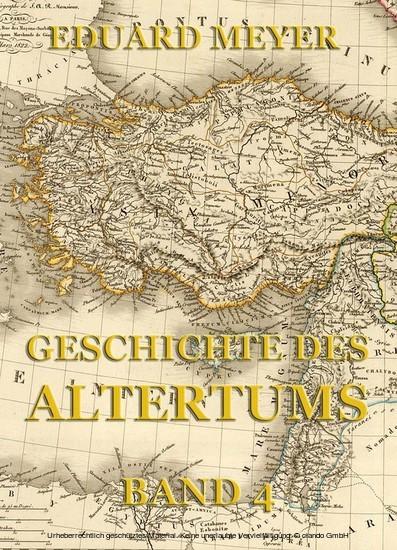 Geschichte des Altertums, Band 4 - Blick ins Buch