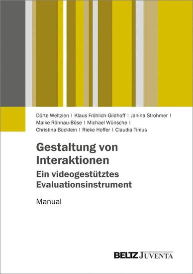 Gestaltung von Interaktionen - Ein videogestütztes Evaluationsinstrument - Blick ins Buch