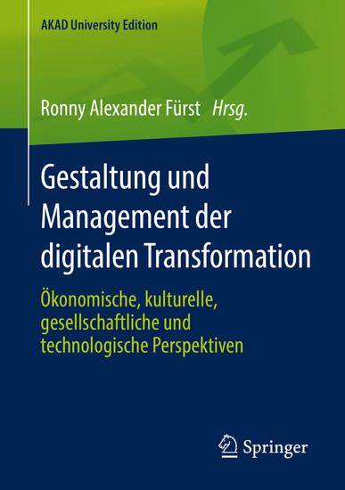 Gestaltung und Management der digitalen Transformation - Blick ins Buch