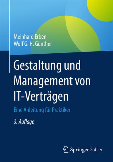 Gestaltung und Management von IT-Verträgen - Blick ins Buch