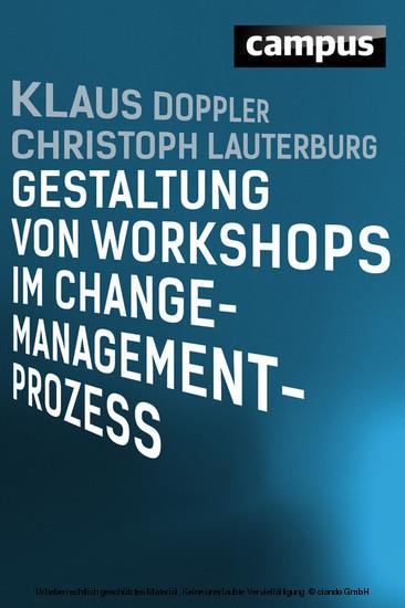 Gestaltung von Workshops im Change-Management-Prozess - Blick ins Buch