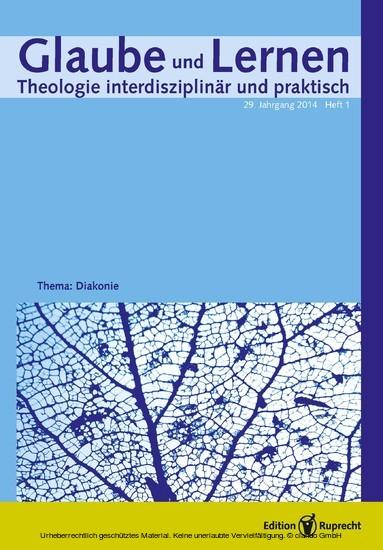 Glaube und Lernen 1/2014 - Einzelkapitel - Blick ins Buch
