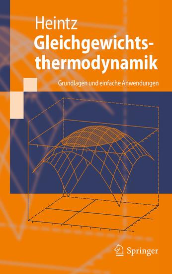 Gleichgewichtsthermodynamik - Blick ins Buch