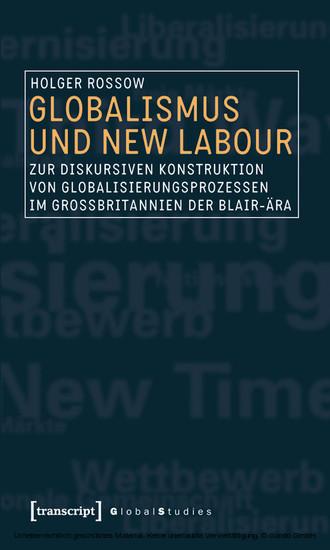 Globalismus und New Labour - Blick ins Buch