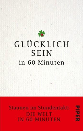 Glücklich sein in 60 Minuten - Blick ins Buch