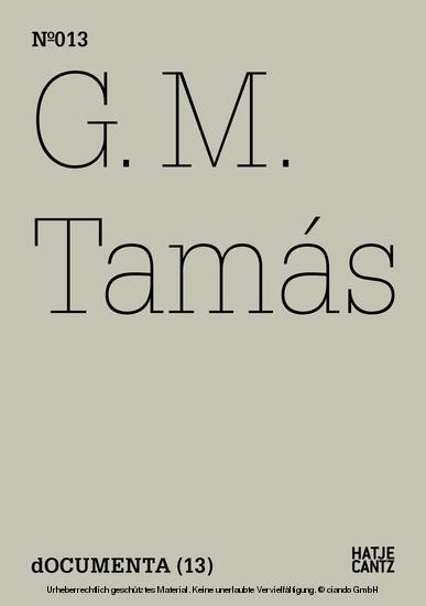 G.M. Tamás - Blick ins Buch