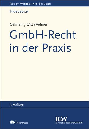 GmbH-Recht in der Praxis - Blick ins Buch