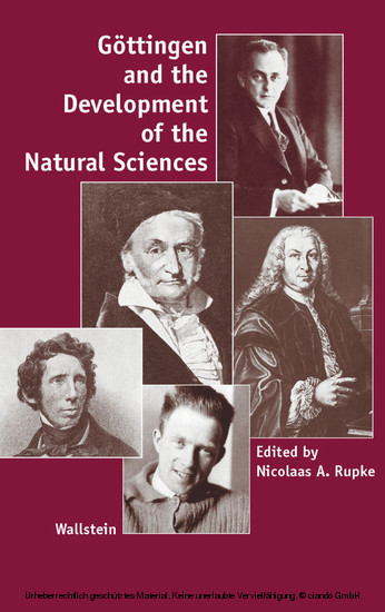Göttingen and the Development of the Natural Sciences - Blick ins Buch
