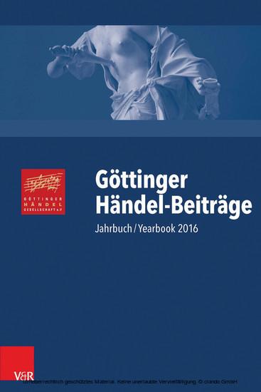 Göttinger Händel-Beiträge, Band 17 - Blick ins Buch