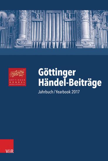 Göttinger Händel-Beiträge, Band 18 - Blick ins Buch