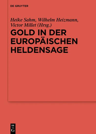 Gold in der europäischen Heldensage - Blick ins Buch