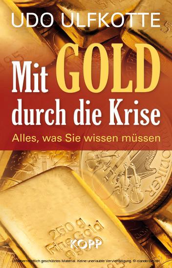 Mit Gold durch die Krise - Blick ins Buch