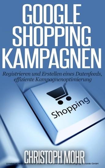 Google Shopping Kampagnen - Blick ins Buch
