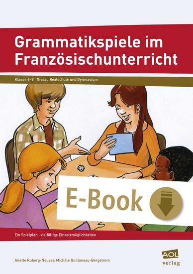 Grammatikspiele im Französischunterricht - Blick ins Buch