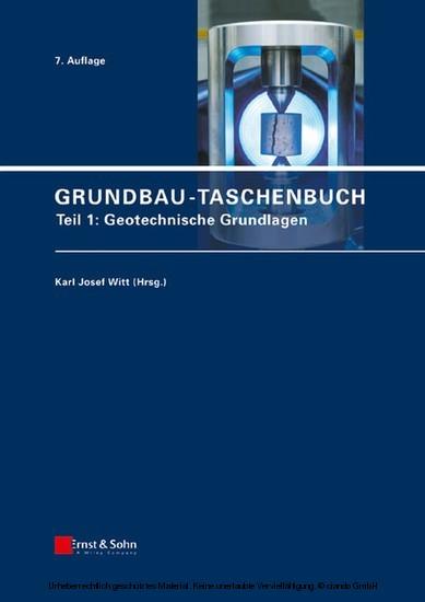 Grundbau-Taschenbuch - Blick ins Buch