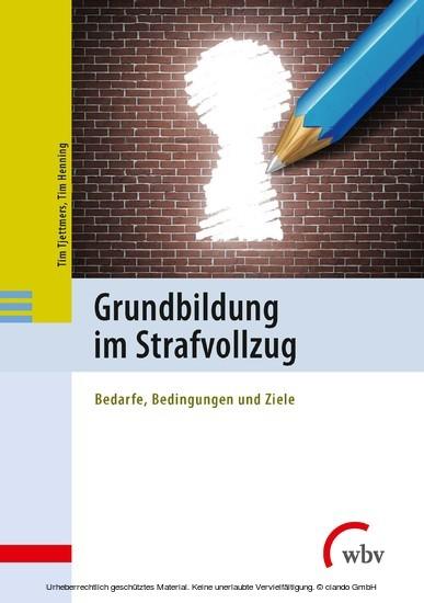 Grundbildung im Strafvollzug - Blick ins Buch